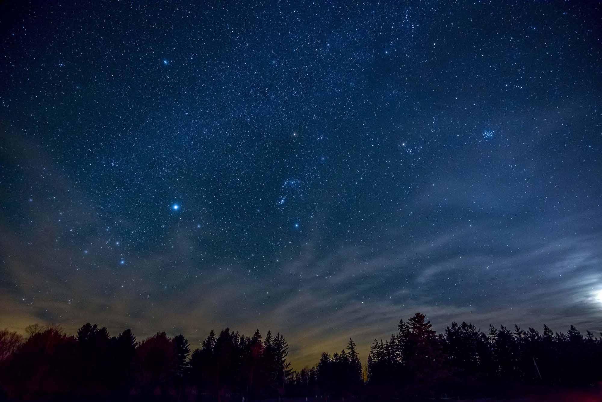 Park Pennsylvania Amatørastronomi For Mørk Himmel