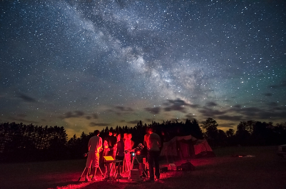 Stargazing at Cherry Springs - Cherry Springs State Park